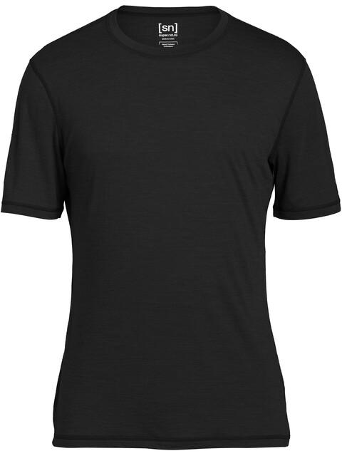 super.natural Base Tee 140 - Sous-vêtement Homme - noir
